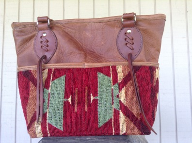 "Here it is with a more casual ""saddle blanket"" exterior."
